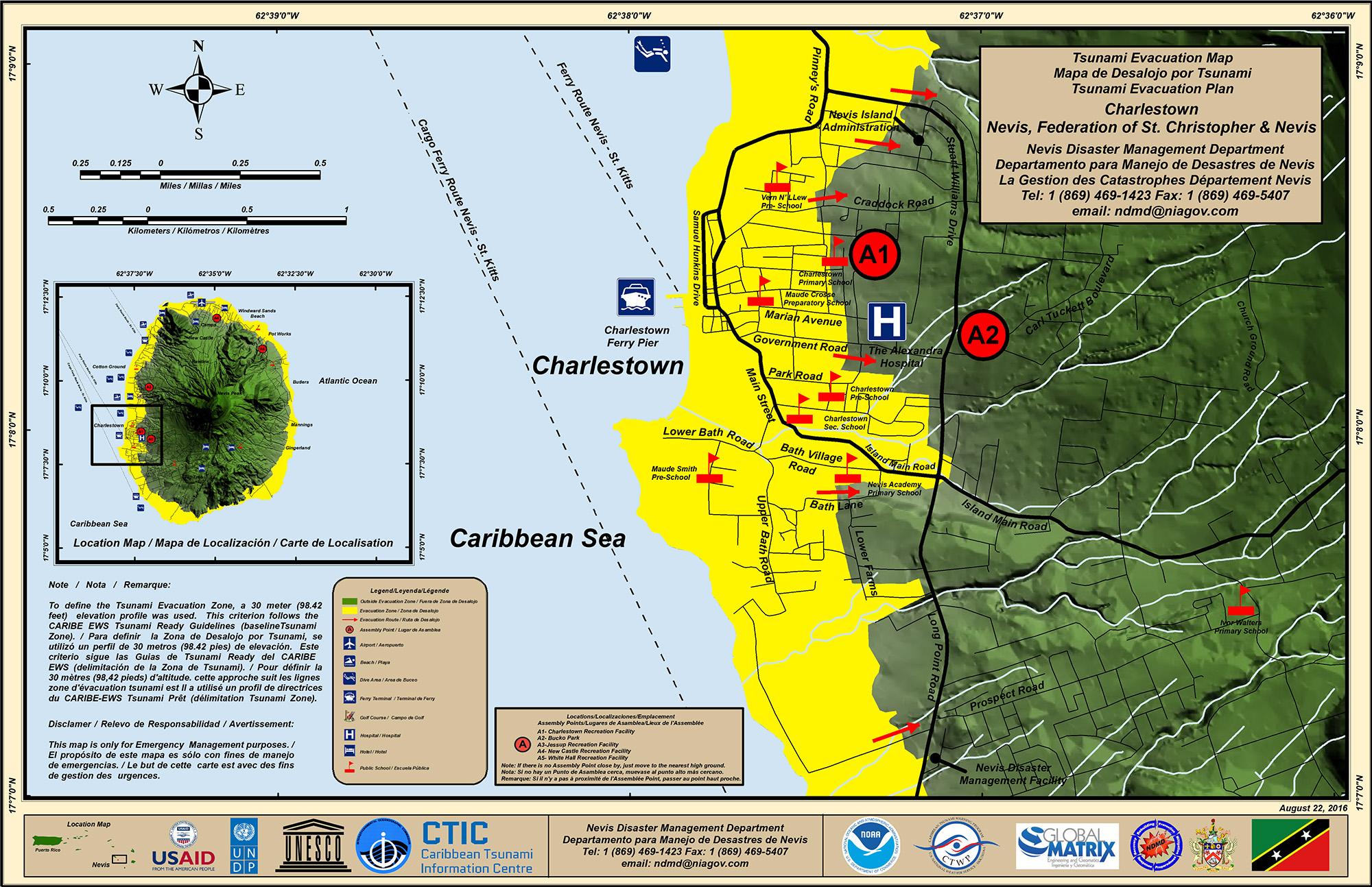 Tsunami - Nevis Disaster Management Department (NDMD)